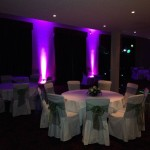 Quasar Discos Accessories: Uplighters & Wedding Room Layout